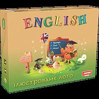 """Настольная игра Лото """"Английский язык"""", Artos Games (20796)"""