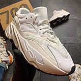 Женские кроссовки Adidas Yeezy Boost 700 V2 White, фото 5