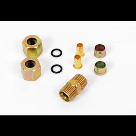 Аварийный разъём метал. разборной ПВХ 14мм ((50))