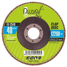 Круг лепестковый торцевой Alloid FD-12540