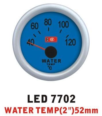 Температура воды 7702 LED стрелочный диаметр 52мм