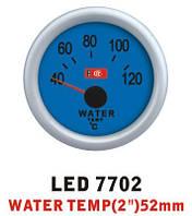 Температура воды 7702 LED стрелочный диаметр 52мм, фото 1