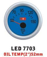 Температура масла7703 LED стрелочный диам.52мм, фото 1
