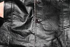 Куртка мужская кожа PU осень-зима, фото 2