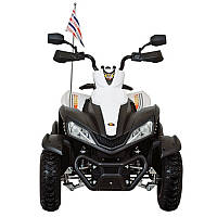 Детский квадроцикл Huada Toys ATV (DMD-268) Белый