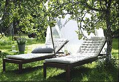 Лежаки і гамаки садові