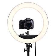 Кольцевой свет 34,5см (28W) Visico RL-12II AC Ring Light, фото 3