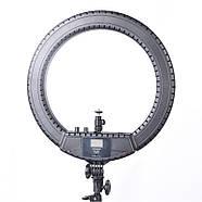 45см Кольцевой свет (55W) Visico RL-18BII-E AC/DC Ring Light Energy Kit, фото 6