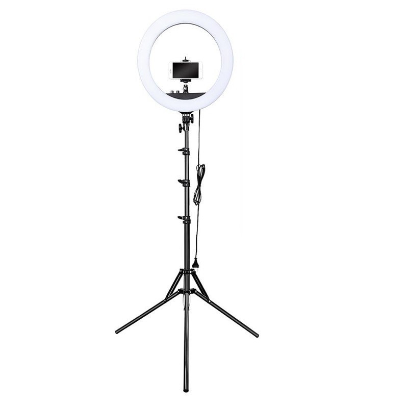 45см Кольцевой свет (55W) Visico RL-18BII AC/DC Ring Light