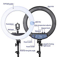 Кольцевой свет 45см (55W) Visico RL-18II AC Ring Light , фото 5