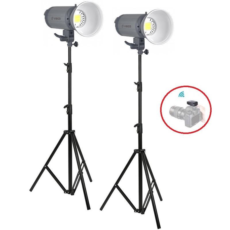 3000Вт Набір постійного світла Visico LED-150T Easy Kit