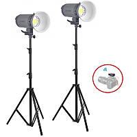 4000Вт Набір постійного світла Visico LED-200T Easy Kit