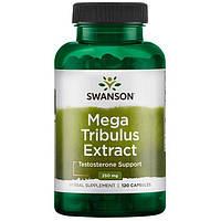 Mega Tribulus Extract, Swanson, 250 мг, 120 капсул