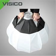 50см Сферический софтбокс Visico FSD-500 Quick Ball, Bowens, фото 3
