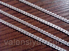 Цепочка серебряная - плетение Лав