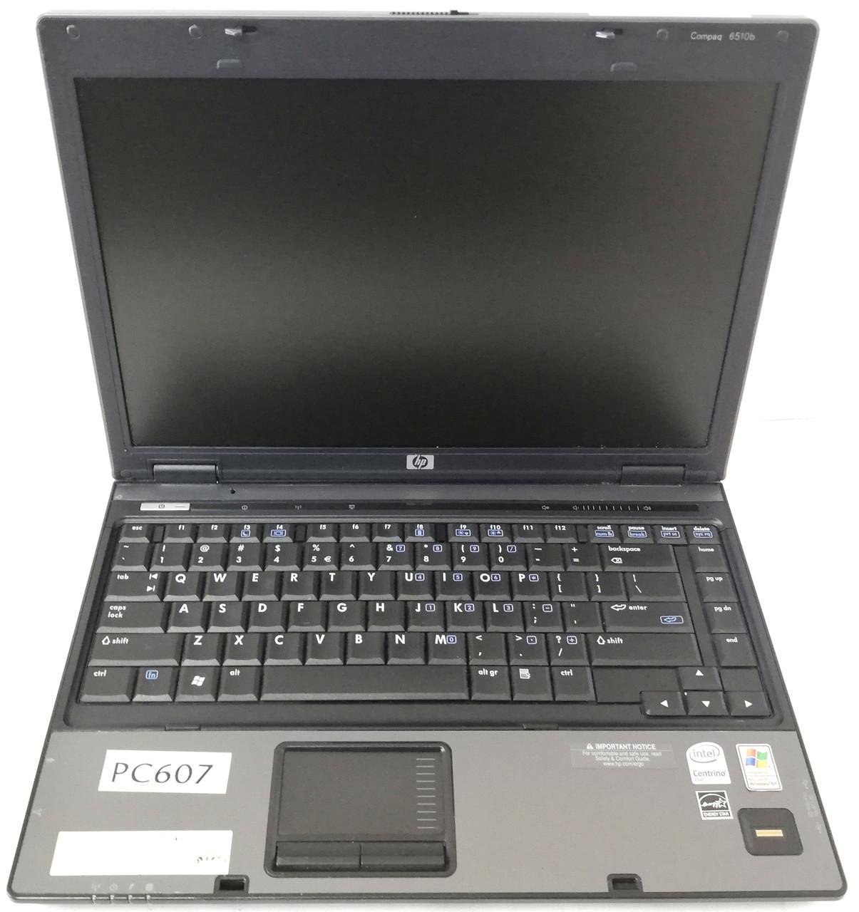 """Ноутбук HP Compaq 6510B 14"""" Intel Core 2 Duo T7500 2,2 ГГц 1 ГБ Б/У"""