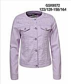 Котоновая куртка для девочек Glo-Story оптом, 122/128-158/164 рр.
