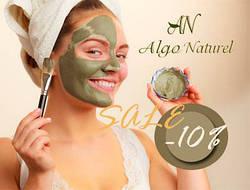 Альгинатные маски Algo Naturel  со скидкой -10%