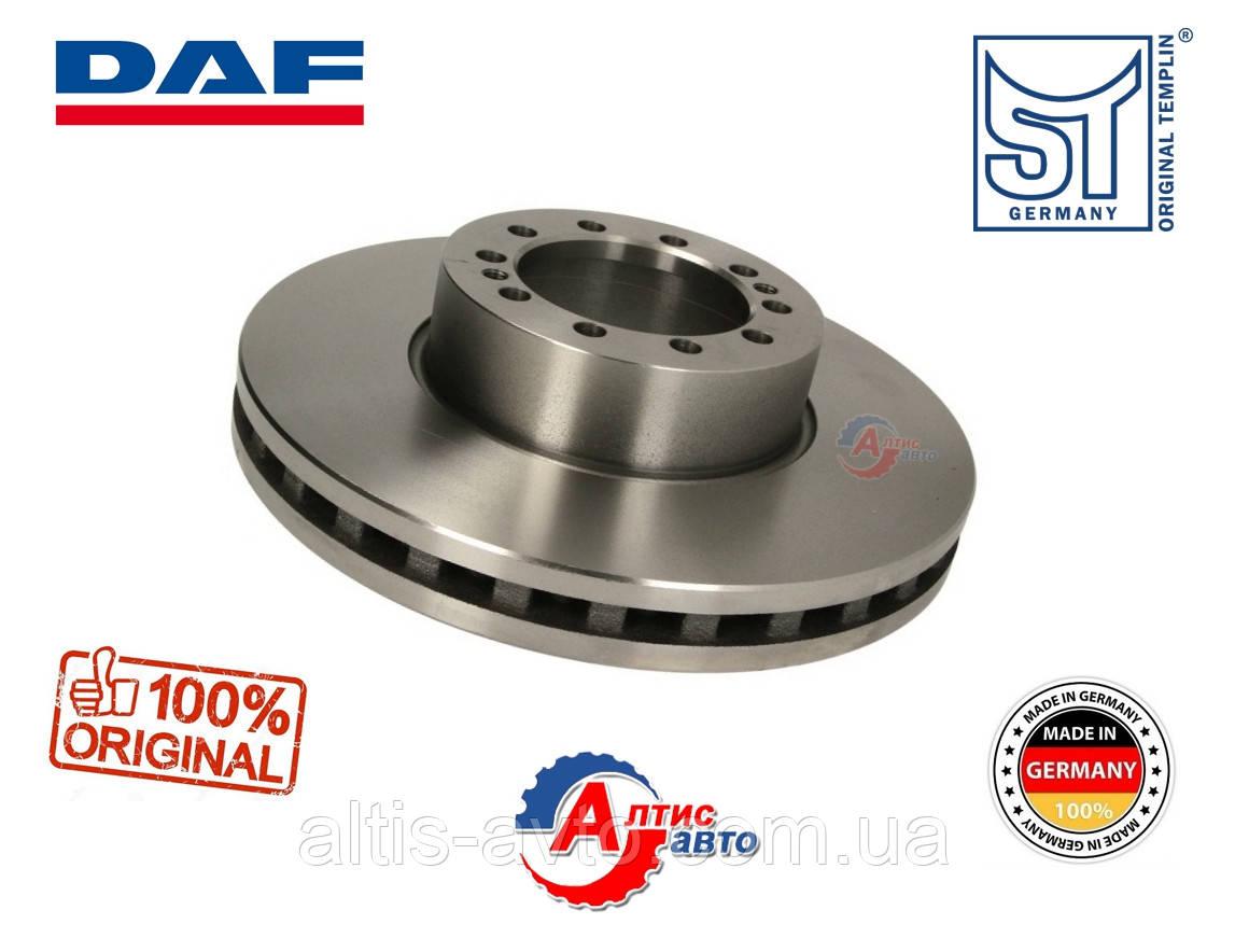 Передний диск тормозной DAF LF 55 тормозной системы Wabco Pan-19, 1400069 D 375x45 мм