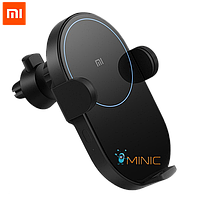 Беспроводное автомобильное зарядное устройство Xiaomi MI QI Car Wireless Charger (WCJ02ZM), фото 1