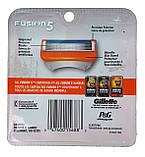 Gillette Fusion сменные картриджи (8 шт) USA, фото 2