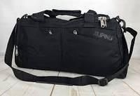 Сумка дорожная спортивная черная Jiliping (50см)