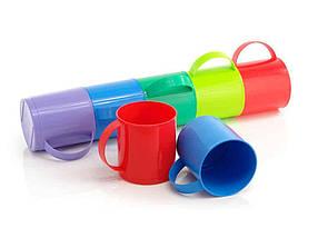 Кружка пластиковая Юнипласт 1 л