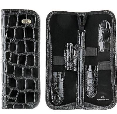 Футляр для перукарських інструментів SPL 77404 (чорний крокодил)