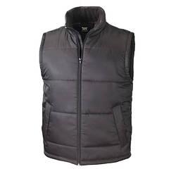 Мужская плотная жилетка Bodywarmer черная R208-36