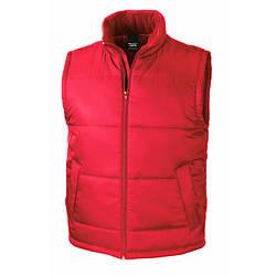 Мужская плотная жилетка Bodywarmer красная R208-40