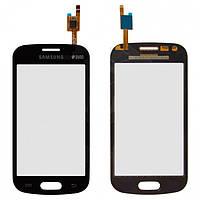 Touchscreen (сенсорный экран) для Samsung Galaxy Trend S7390, черный, оригинал