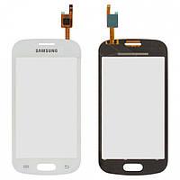 Touchscreen (сенсорный экран) для Samsung Galaxy Trend S7390, белый, оригинал