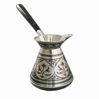 Кофе на молоке в турке, кофе по-варшавски