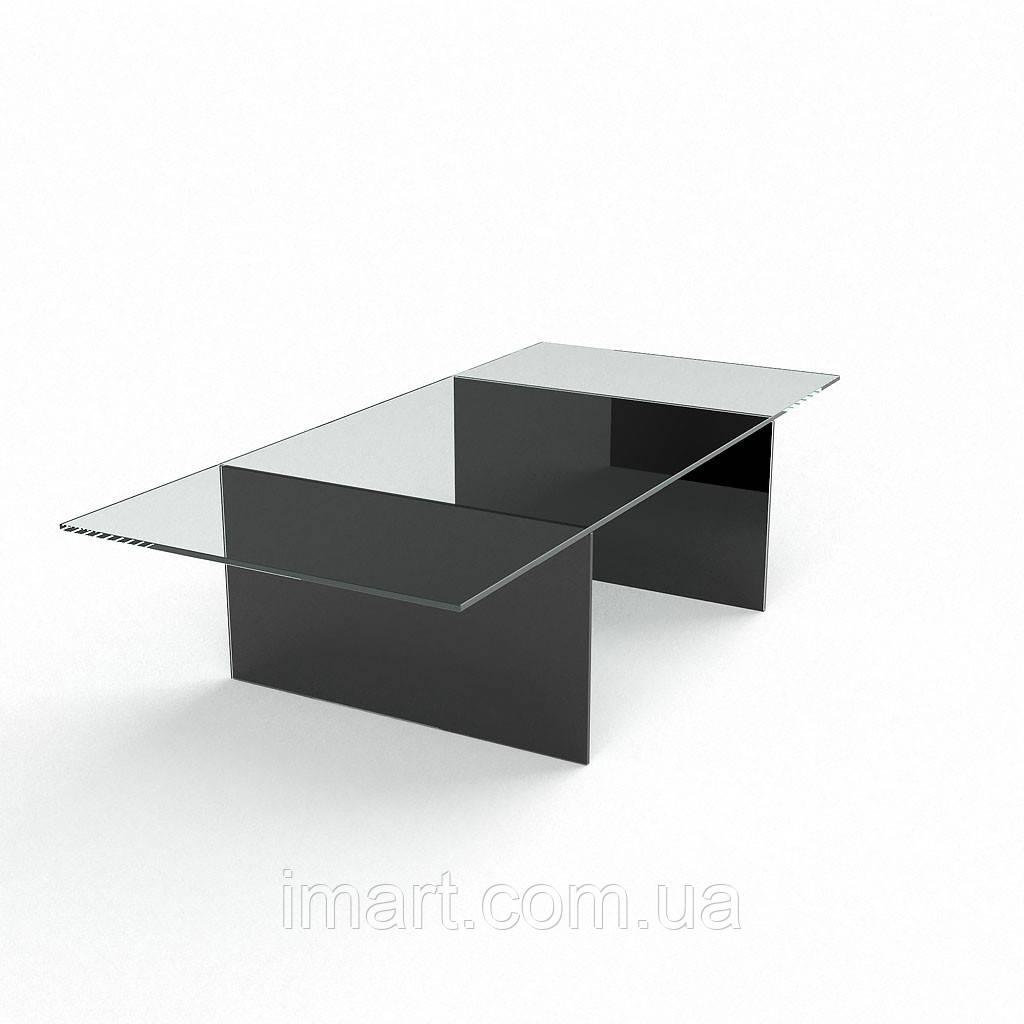 Журнальный стол Дарвин стеклянный