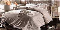 Комплект постельного белья Maison D'or ROSES Евро Кремовый