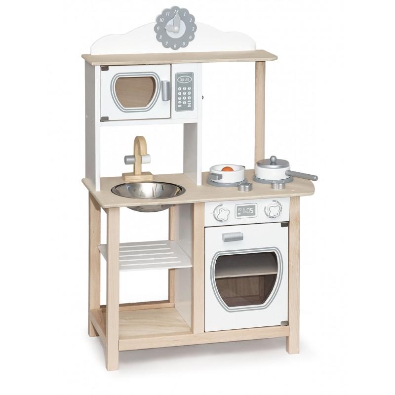 Кухня деревянная белая Viga 51626