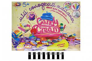 Набор для творчества Кондитер, крем в наборе, Candy cream Кремові фантазії75012
