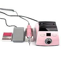 Фрезер для маникюра и педикюра Nail Drill ZS-710, розовый, 35 000 об, 65 Вт