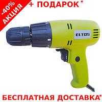Дрель - шуруповерт сетевой ELTOS ДЭ-780 для профессиональных работ