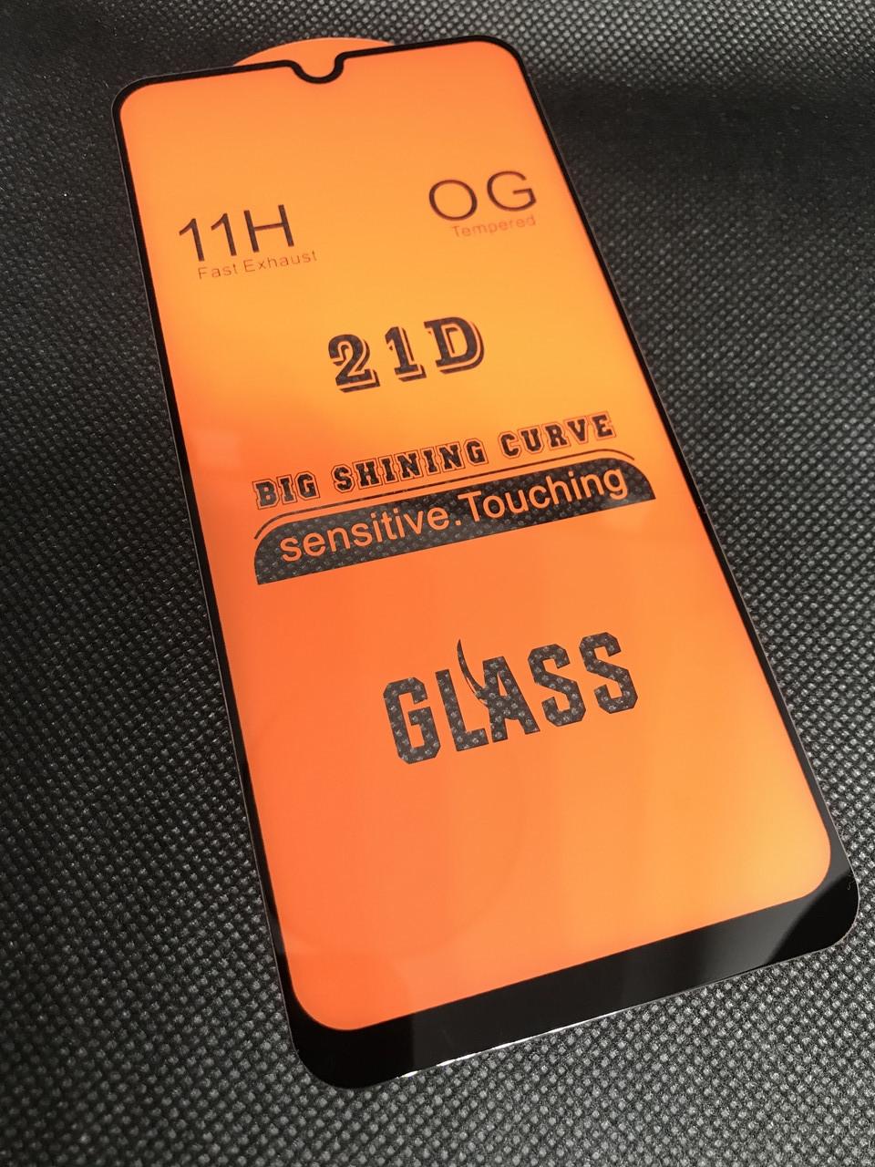 Samsung Galaxy M30S 2019 (M307) защитное 3D 5D 9D 21D стекло Full Glue полное покрытие полный клей