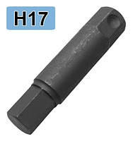 Бита ударная HEX H17, L=107. A2166-A017 H.C.B.