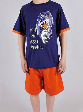 Піжама для хлопчика Natural Club 1065 122 см Синій, фото 2