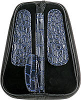 Футляр для парикмахерских инструментов SPL 77405 (синий крокодил), фото 2