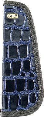 Футляр для парикмахерских инструментов SPL 77405 (синий крокодил)