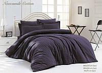 Комплект постельного белья Maison D'or NEW CAMİLE Евро Фиолетовый