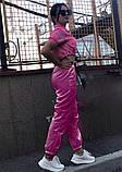 Костюм женский яркий салатовый малиновый, фото 5
