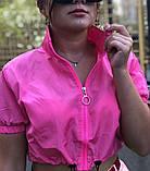 Костюм женский яркий салатовый малиновый, фото 7
