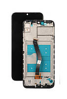 Дисплей для Huawei Y6 2019 | Y6 Prime 2019 | Honor 8A | MRD-LX1 с сенсором в рамке (Черный) Оригинал Китай