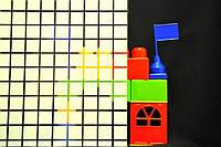 Декоративная пленка квадраты матовые