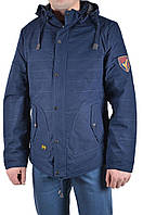 Куртка мужская демисезон Hestovrviio 12213 (46 (L), темно синий )